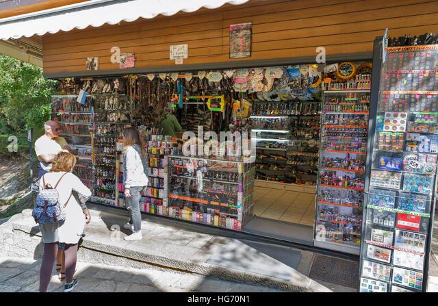 Street In Republic Of San Marino Italy Stock Photos & Street In ...