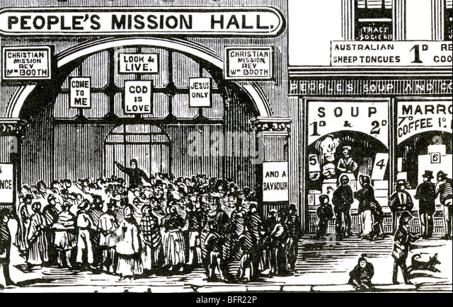 An analysis of the salvation army founded by william booth