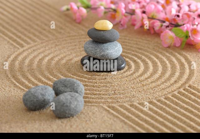 Zen Garden Of Meditation   Stock Image