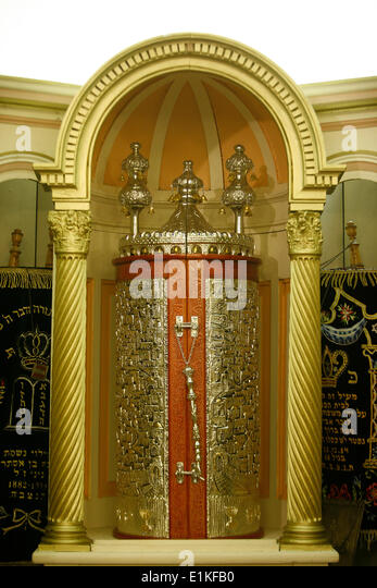 Sacred ark in Avignon synagogue - Stock Image & Synagogue Ark Stock Photos \u0026 Synagogue Ark Stock Images - Alamy