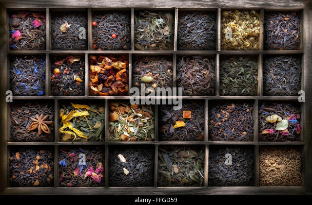 Tea leaves and thyme coupon