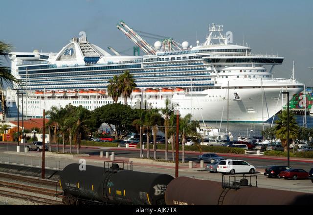 Cruise Ship Golden Princess Cruise Stock Photos Cruise Ship - Los angeles cruise ship terminal