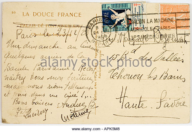 image Postcards from paris c 1900 1920