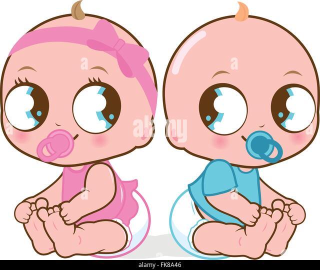 boy girl twins babies stock photos amp boy girl twins babies