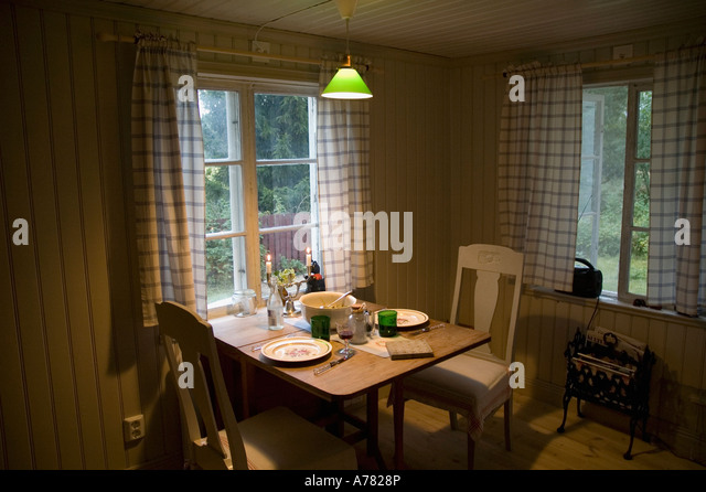 An Old Cottage In Central Sweden Converted To A Summer House   Stock Image Good Ideas