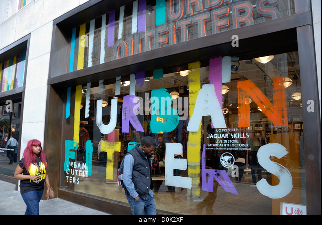 Exterior Of An Urban Outfitters Fashion Shop