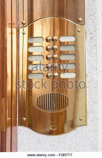 Brass Doorbell Stock Photos Amp Brass Doorbell Stock Images Alamy