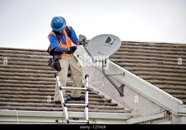 Installing Satellite Dish Photos Installing Satellite Dish – Satellite Dish Technician