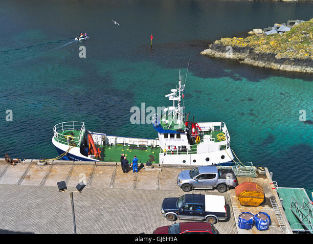 Good Shepherd Fair Isle Ferry Stock Photos & Good Shepherd Fair ...
