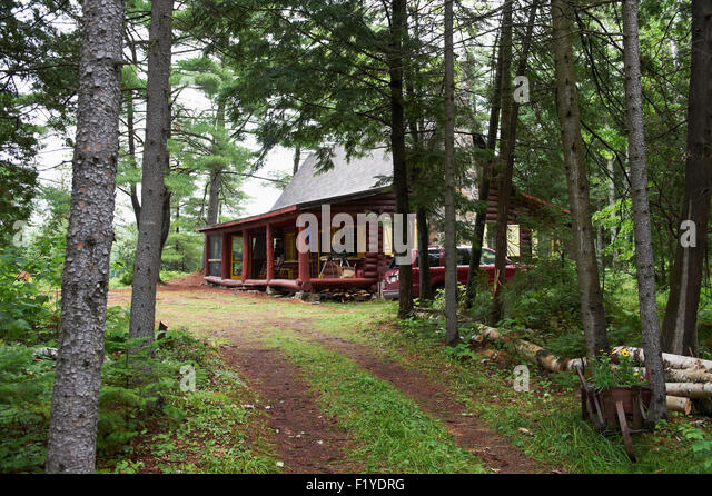 Woods Cabin No One Stock Photos Woods Cabin No One Stock