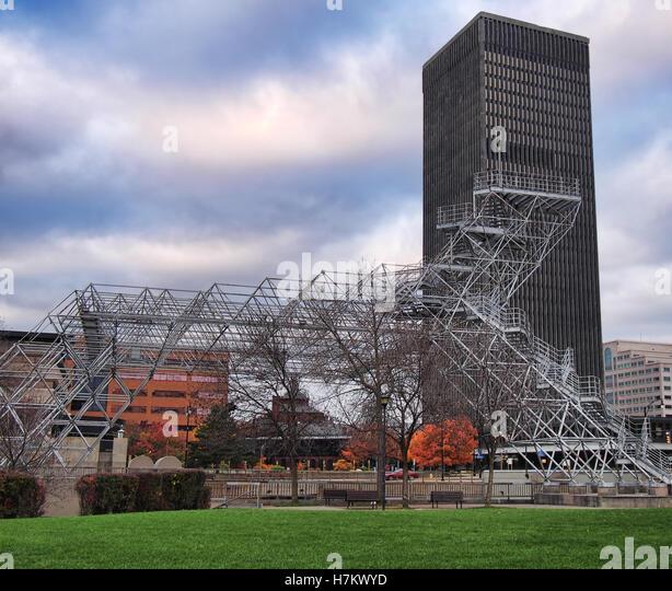 Rochester new york cityscape stock photos rochester new for Architects rochester ny