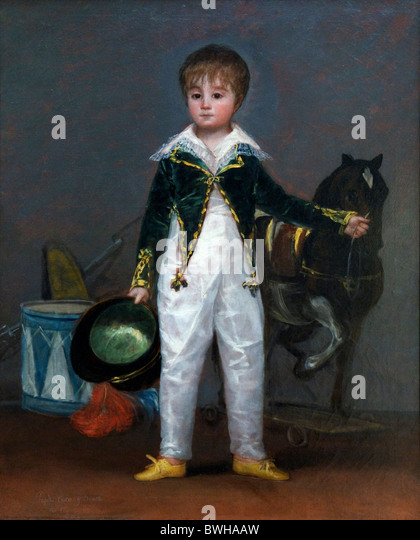 a biography of jose de goya y lucientes Francisco josé de goya y lucientes was a spanish romantic painter and printmaker regarded both as the last of the old masters and the first of the moderns.