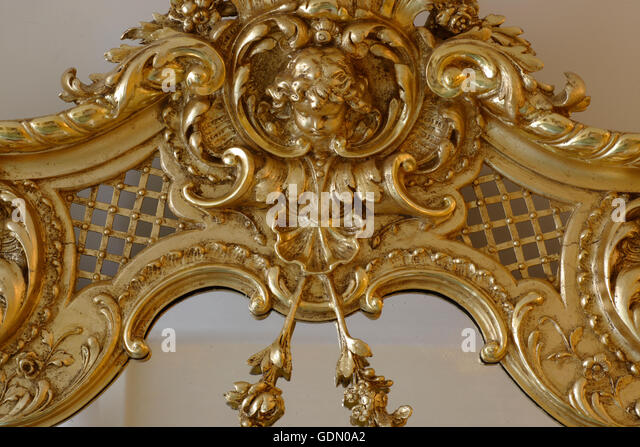 Decorative mirror stock photos decorative mirror stock for Unique mirror frames