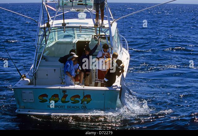 Deep sea fishing california stock photos deep sea for Deep sea fishing san diego california