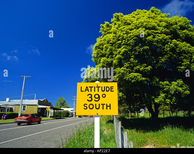 South Latitude Stock Photos South Latitude Stock Images Alamy - New zealand latitude
