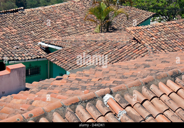 Spanish tiles stock photos spanish tiles stock images for Spanish style roof tiles