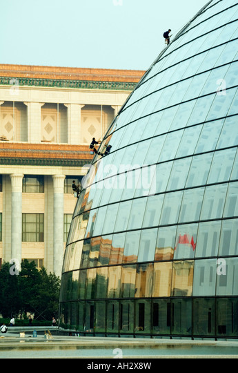 Chinese people cleaning house stock photos chinese for Beijing opera house architect