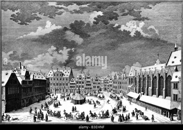 Kleiner black and white stock photos images alamy for Liebfrauenberg frankfurt