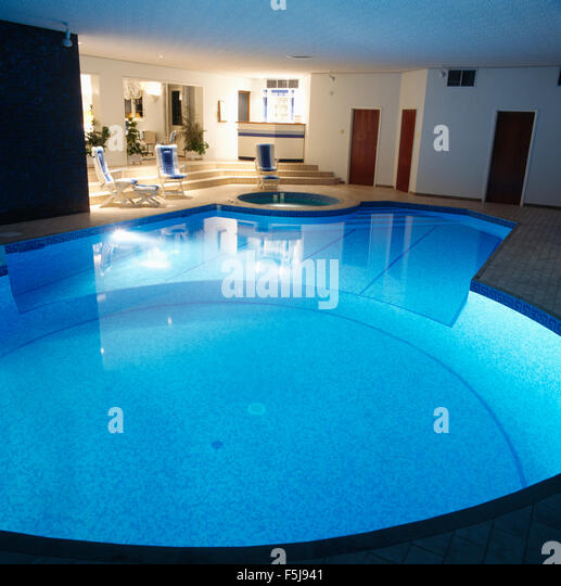 Indoor swimming pools stock photos indoor swimming pools for Private indoor swimming pools