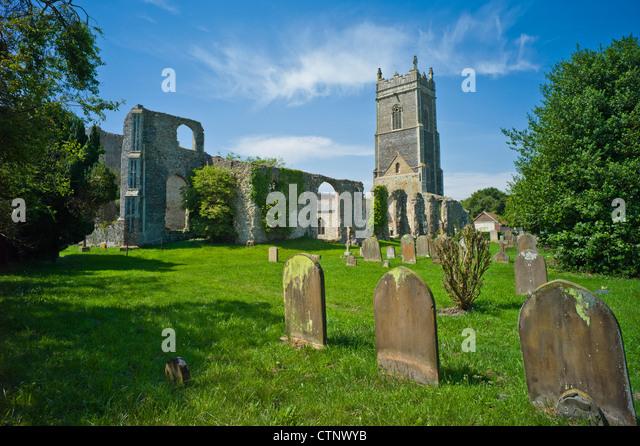 Curtain Wall Church : Suffolk ruin stock photos images alamy