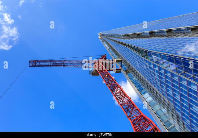 Overhead Crane Newfoundland : London construction boom stock photos