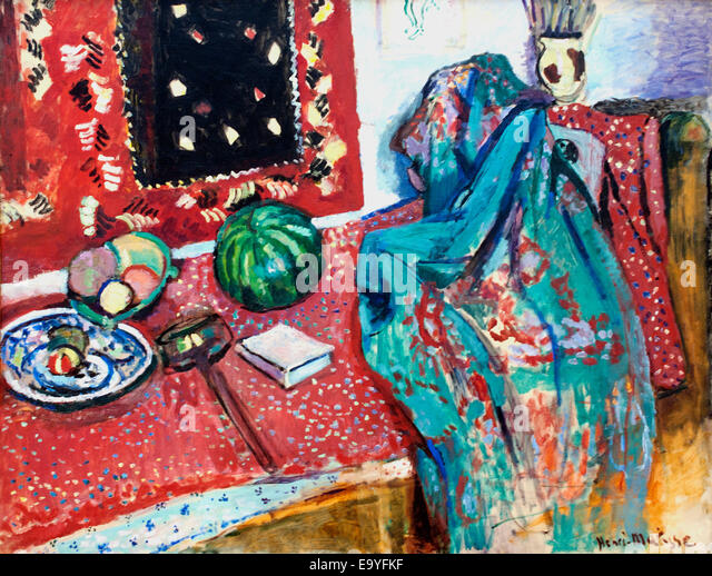 Matisse painting stock photos matisse painting stock for Matisse fenetre