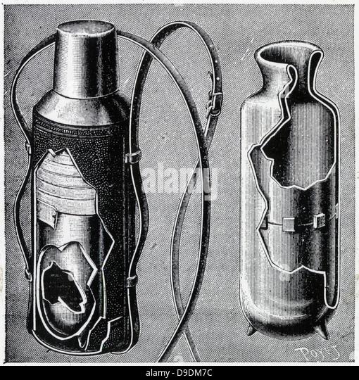 dewar flask diagram