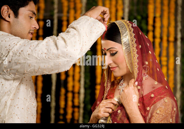 Hindu Wedding Ceremony Stock Photos