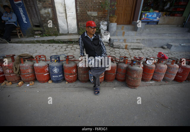 Fuel shortages kathmandu nepal stock photos fuel for Kitchen equipment in nepal