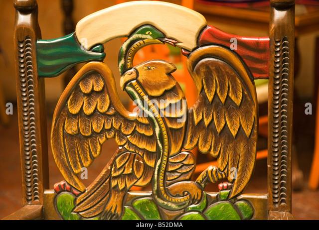 Eagle Carving Mexico Stock Photos & Eagle Carving Mexico Stock ...