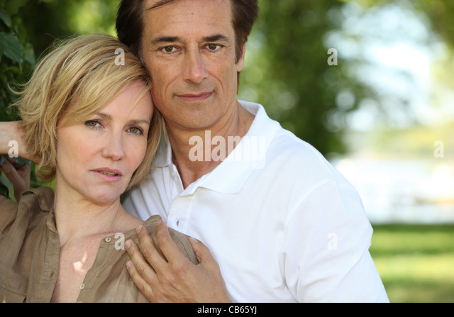 Couple Stood Face To Face Stock Photos &amp- Couple Stood Face To Face ...