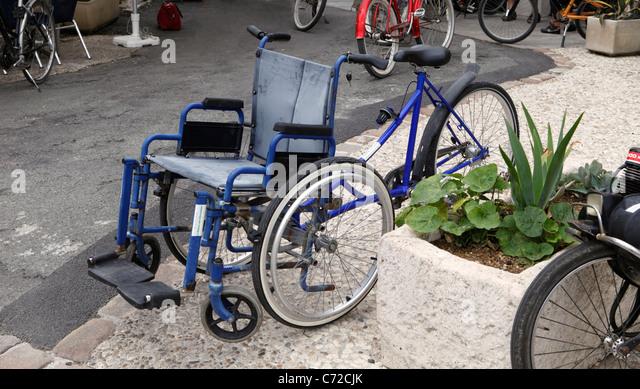 Wheelchair Bike Stock Photos Amp Wheelchair Bike Stock