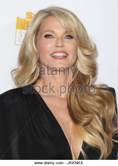 Christy Brinkley 50th Anniversary Of Sports Illustrated Swimsuit Issue At The Dolby Theatre