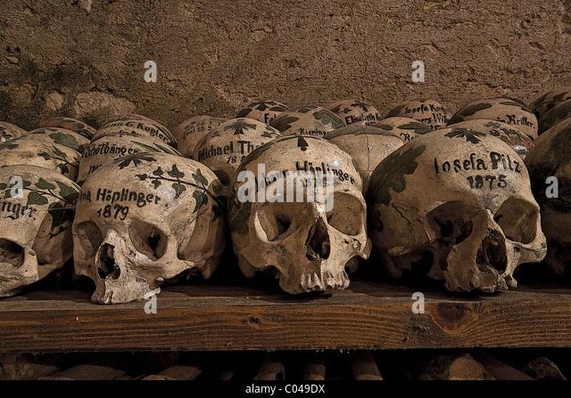 The Bone House (beinhaus) In Hallstatt In The Michaelskappelle (St  Michaelu0027s Chapel) Amazing Pictures