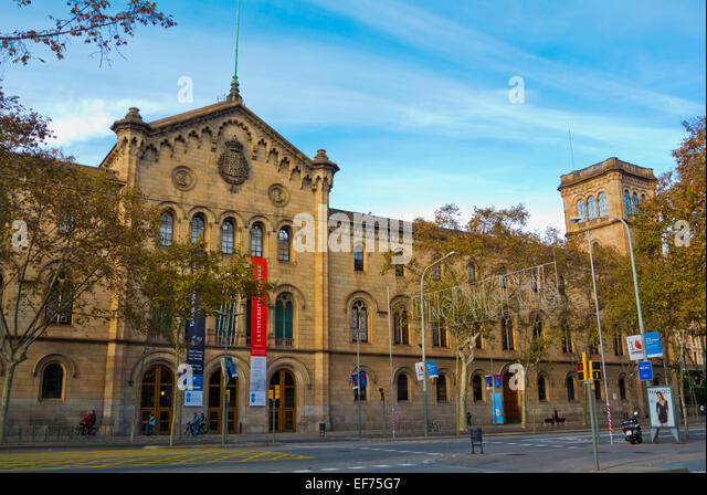 Universit t stock photos universit t stock images alamy - Placa universitat barcelona ...