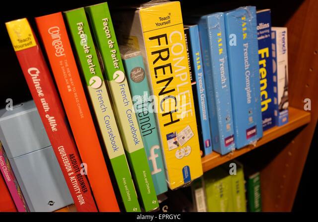French Language Books Stock Photos & French Language Books Stock ...