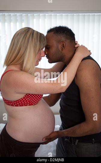 white girl black pregnant