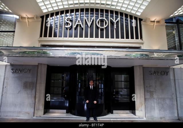 Hotel Savoy Doorman Stock Photos Amp Hotel Savoy Doorman