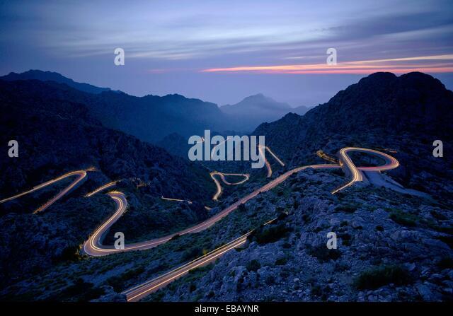 Sa Calobra Road Stock Photos & Sa Calobra Road Stock Images - Alamy