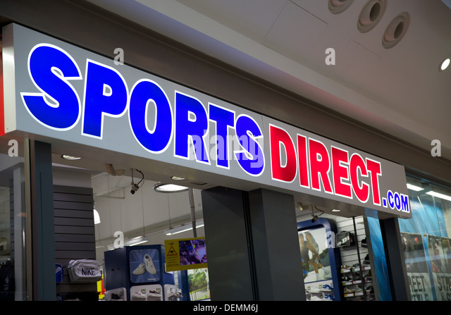 sports direct retail stock photos sports direct retail stock images alamy. Black Bedroom Furniture Sets. Home Design Ideas