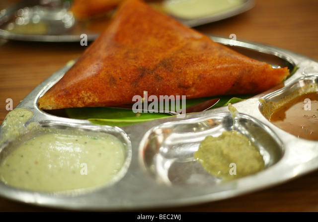 Masala dosa stock photos masala dosa stock images alamy for Authentic south indian cuisine