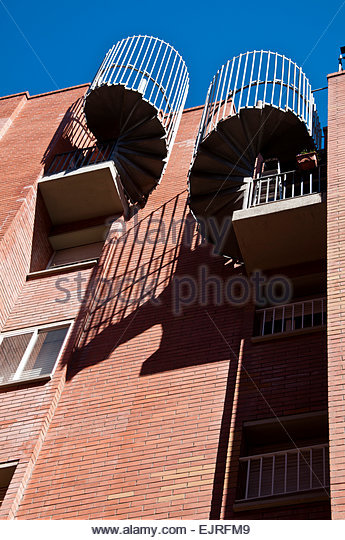 Caracol and people stock photos caracol and people stock - Escaleras de caracol barcelona ...