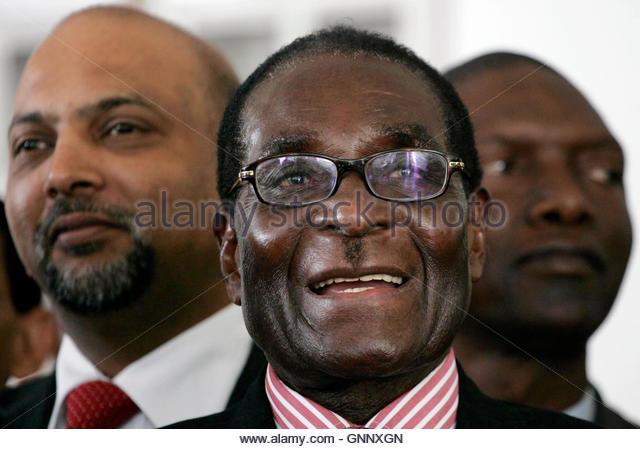 Robert Mugabe Smiling