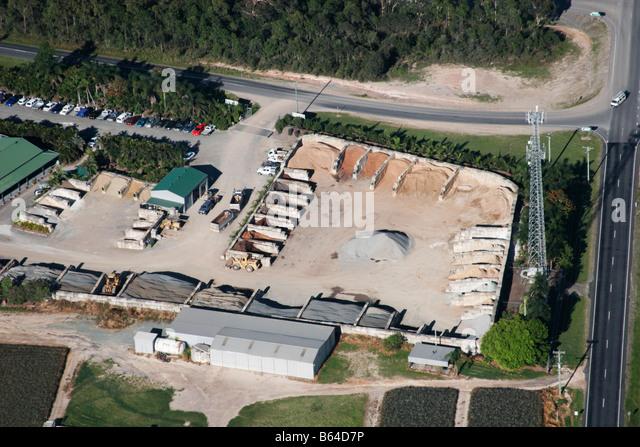 Highway Construction Materials : Truck driver australia stock photos