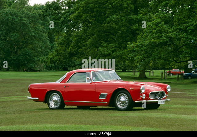 maserati 3500gt coupe built 1957 to 1964 stock image