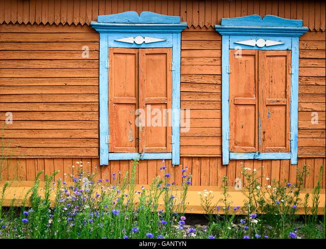 Wooden Framed Windows Stock Photos Wooden Framed Windows Stock Images