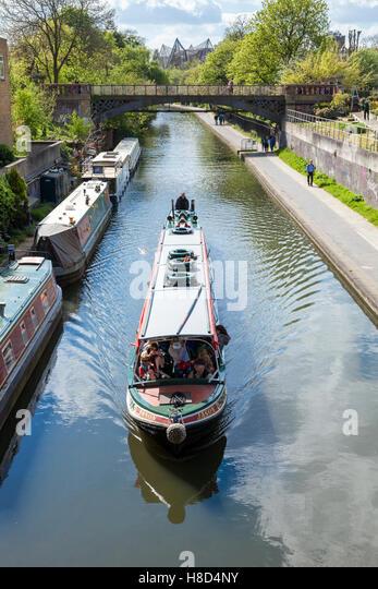 Regent S Canal Narrow Boat Tour