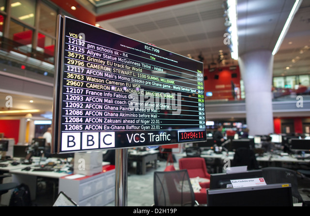 Newsroom bbc stock photos newsroom bbc stock images alamy for Tech house london