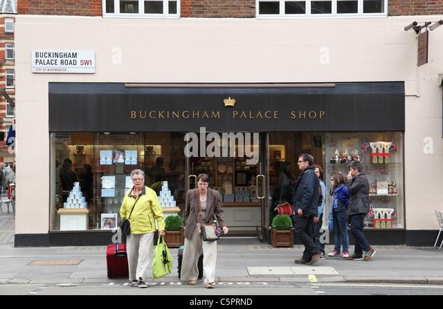 Buckingham palace shop buckingham palace road london england uk c5prnd