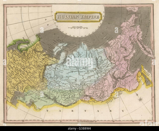 Russian Map Stock Photos Russian Map Stock Images Alamy - Russian map